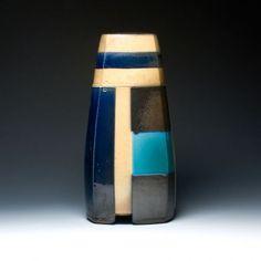 David Crane Lidded Jar David Crane, Jar Lids, Three Dimensional, Ceramic Art, Lava Lamp, Stoneware, Objects, Design Inspiration, Pottery