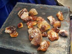 Fire Agate  large lot of stones  lapidary by CoyoteRainbow on Etsy, $30.00