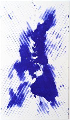 Ned Vena, Untitled, 2012. Garvey ink on canvas.