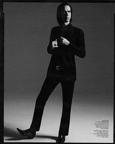 NICK CAVE! NICK CAVE! he might not live here anymore, still he is the Aussie godfather of goth <3