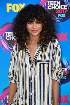 b23ef7781 Style File: Zendaya Brings Her Crazy Pants to BeautyCon and The Teen Choice  Awards
