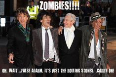 ZOMBIES!  No, Rolling Stones!