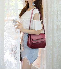 It's absolutely bang-on! Street Outfit, Jeans Style, Cosmetic Bag, Women Accessories, Shoulder Bag, Free Shipping, Lady, Crossbody Bags, Totes