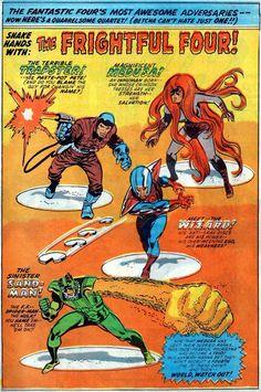 Fantastic Four Issue - Read Fantastic Four Issue comic online in high quality Marvel Comic Universe, Marvel Comic Books, Comics Universe, Marvel Art, Marvel Heroes, Comic Books Art, Captain Marvel, Book Art, Mister Fantastic