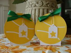 Tennis Ball Gift Tag These would be really cute on the bags at banquet