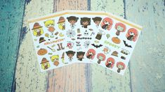 Items similar to Tootie Fruity Halloween Bundle - FREE Sticker and Cardstock Sticker Holder on Etsy Sell On Etsy, Planner Stickers, Fun Crafts, Free Printables, Etsy Seller, Best Gifts, Anniversary, Etsy Shop, Invitations