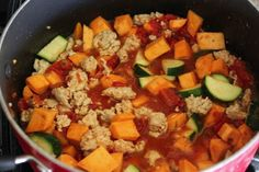 "Healthy ""one pot wonder"" quick dinner"