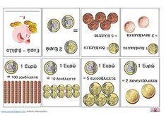 Classάτη : Ευρω - Βιβλιαράκι Lead Generation, Maths, Teaching, Blog, Money, School, Image, Sands, Silver
