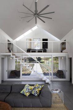 Оригинальный, современный дом для молодой семьи с тремя детьми | Дизайн|Все самое интересное о дизайне, архитектура, дизайн интерьера, декор, стилевые направления в интерьере, интересные идеи и хэндмейд