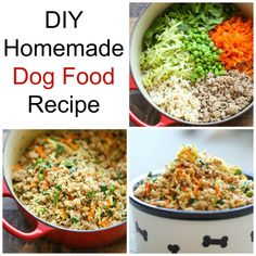 DIY Homemade Natural Dog Food Recipe