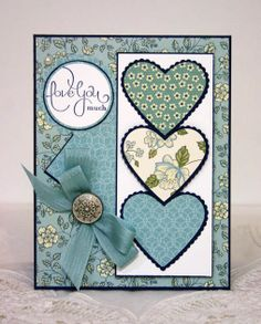 Stampin Up Valentine Friendship | Sleepy in Seattle: February 2011