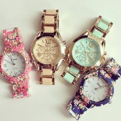 I don't wear watches but these are cute