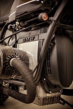 """BMW R100 """"Espresso"""" {very neat engine}"""