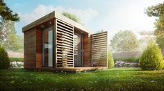 Making of Garden Office - 3D Architectural Visualization & Rendering Blog