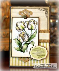 Inky Peach Designs: A card AND some Power Poppy news!