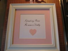 Framed quote for little girl's room  9x9  I by FiveSistersshop, $18.00