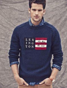 Arthur Sales for Lexington sweater