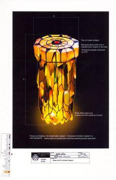 Stargate Atlantis: Props - I want a ZPM lamp!!