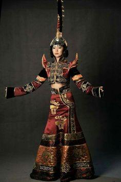 Tuvan costume