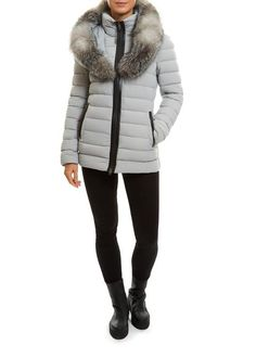 Leading online upscale fashion boutique in London for women's outerwear. Selecting designers such as Canada Goose, Mackage, Rino & Pelle and Ventcouvert, Fur & Leather coats and much more. Fur Clothing, Outerwear Women, Fox Fur, Fashion Boutique, Winter Jackets, Coat, Leather, Shopping, Clothes
