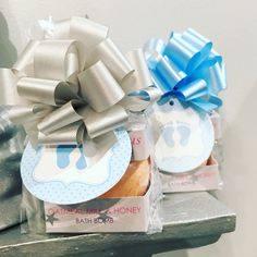 DIY Baby Shower Party Favors: Bath Bomb Edition!