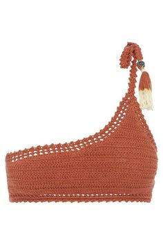 Bikinis Crochet, Crochet Bra, Crochet Bikini Pattern, Crochet Halter Tops, Crochet Crop Top, Crochet Blouse, Cotton Crochet, Crochet Clothes, Crochet Top Outfit
