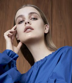 Photography:Olivia Frolich Styled by: Sophie Qureshi Hair:Bruce Masefield Makeup: Marie Thomsen Model:Stina Rapp Wastenson