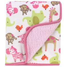 "Carter's Zebra Sherpa Blanket - Carters - Babies ""R"" Us"