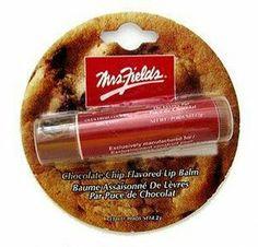 Mrs fields chocolate chip cookie lipbalm