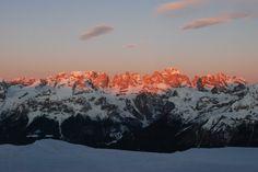 Alba sulle #Dolomiti di Brenta