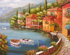 Original painting Canvas painting Oil Painting von ArtPaintingsMP