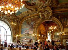 Le Train Bleu Restaurant in Gare de Lyon France