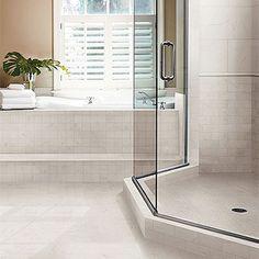 Bathroom on pinterest master bath tile and penny tile for Crossville tile virtue