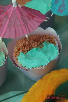 Cupcake praia!  #festafundodomar #underseaparty #mermaidparty
