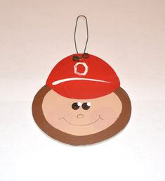 Wooden Ohio State Buckeyes Brutus Face Winter by GraciousGiggles, $8.00