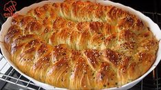 Good Food, Yummy Food, Bread And Pastries, Arabic Food, Turkish Recipes, Croissants, Dinner Rolls, Bread Baking, Finger Foods