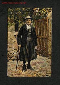 Postal de PALMA DE MALLORCA (Illes Balears): Pagès mallorquí (AM num.19) - Foto 1