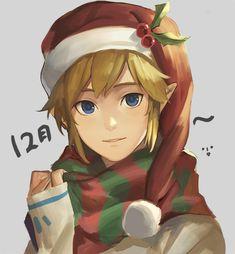 Christmas Link - Legend of Zelda