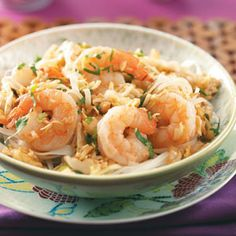 Shrimp Pad Thai Recipe from Taste of Home -- shared by Elise Ray of Shawnee, Kansas
