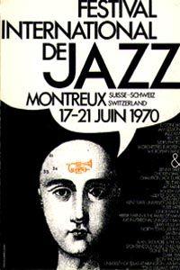 1970 Montreux Jazz Festival Poster