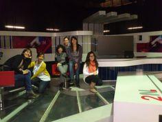 Mis compañeras y amigas. Un gran equipo, DESGLOSE, de excursión conociendo un poco más la televisión.