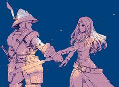 Steiner & Beatrix - Final Fantasy IX