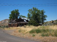 Old Store front in the Ghost Town of Richmond Oregon.