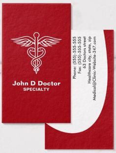 54 Best Medical Business Cards Images Medical Name Cards