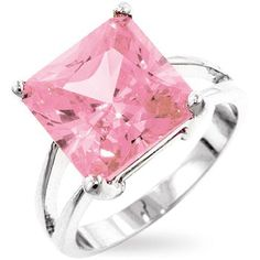 I do love big, sparkly, PINK things!  Isn't this lovely?
