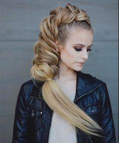 Amazing combo braid hairstyle