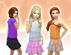 Mod The Sims - Downloads -> Create-a-Sim -> Clothing
