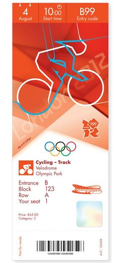 Olympic Games - London 2012 - Ticket