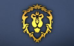 World of Warcraft Alliance Logo Warcraft art