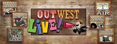 INTRODUCING OUTWEST SHOP'S NEWEST DIVISIONOUTWEST LIVE!LISTEN TO RADIO SHOWS AND LIVE CONCERTS WHILE YOU SHOP!Did you know that one of OutWest's Purveyors, Bobbi Jean, co-hosts three radio shows every Thursday and hosts her own show e... Gary Holt, Interview Format, Bobby S, All In The Family, Event Organiser, Music Library, Trail Riding, Photo Checks, Live Events